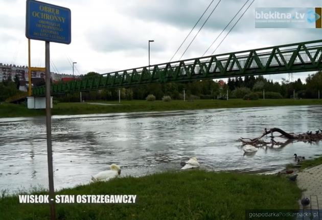 Fot. Kadr z filmu nakręconego przez blekitna.tv