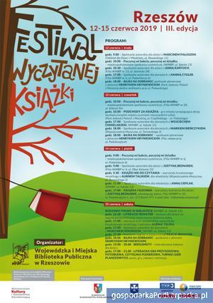 III. Edycja Festiwalu Wyczytanej Książki od 12-15 czerwca 2019
