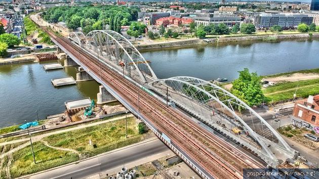 Most na Wiśle. Fot. Piotr Hamarnik/PKP PLK