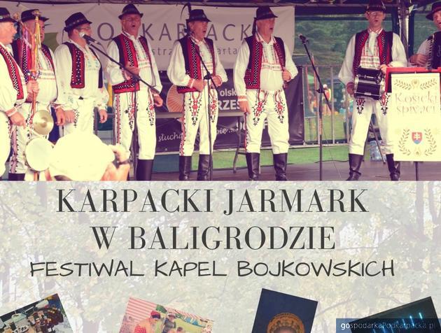 Karpacki Jarmark i Festiwal Kapel Bojkowskich w Baligrodzie