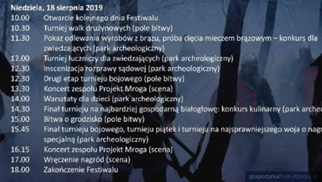 IX Karpacki Festiwal Archeologiczny Dwa Oblicza w Trzcinicy