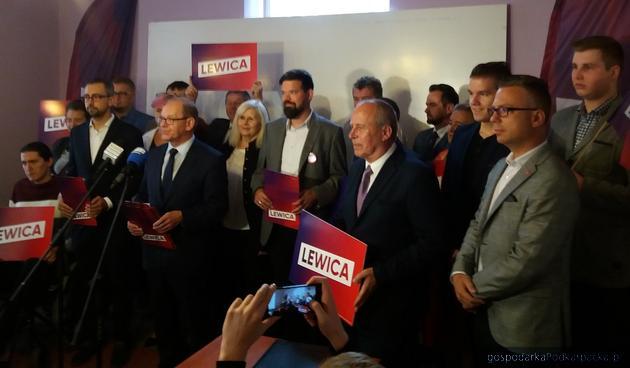 Kandydaci Lewicy (SLD, Wiosna, Razem) do Sejmu 2019 (okręg rzeszowsko-tarnobrzeski)