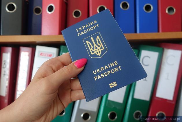 Ukraiński pracownik - najczęściej z paszportem biometrycznym