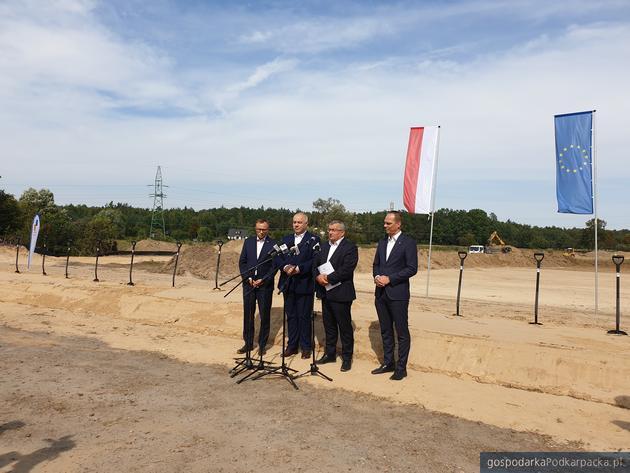 W otwarciu wzięli udział wicepremier Jacek Sasin, minister Andrzej Adamczyk, wiceminister Rafał Weber