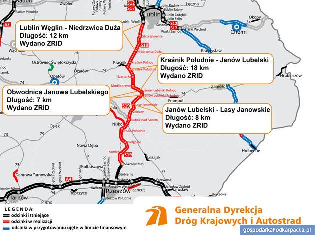 Kolejny odcinek S19 Via Carpatia w budowie: obwodnica Janowa Lubelskiego