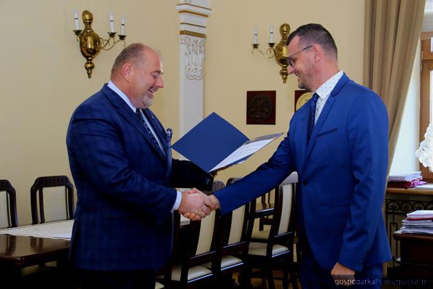 Od lewej Waldemar Paluch i Artur Świątek. Fot. jaroslaw.pl