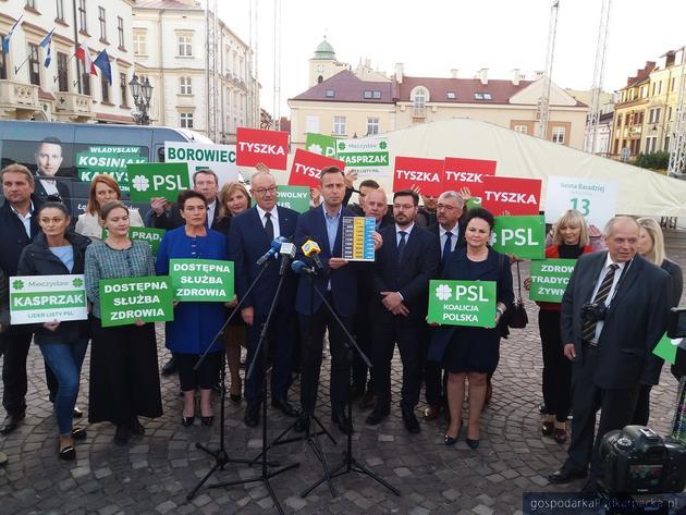Kosiniak-Kamysz w Rzeszowie podsumowuje kampanię PSL
