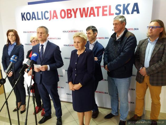 Koalicja Obywatelska po wyborach na Podkarpaciu