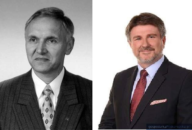 Od lewej Zdzisław Banat i Bogdan Rzońca