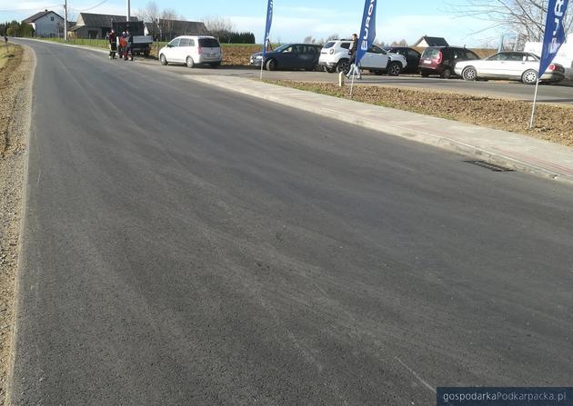 Droga Tyczyn-Nowy Borek-Błażowa po przebudowie