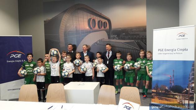 Elektrociepłownia w Rzeszowie sponsorem młodzieżowego Klubu Sportowego Korona Rzeszów