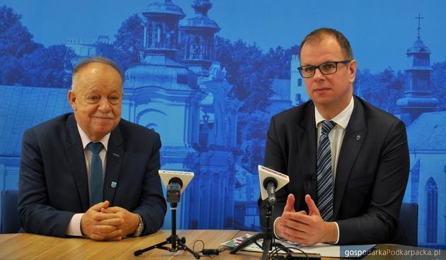 Od lewej Jan Pączek i Wojciech Bakun. Fot. Agata Czereba/przemysl.pl