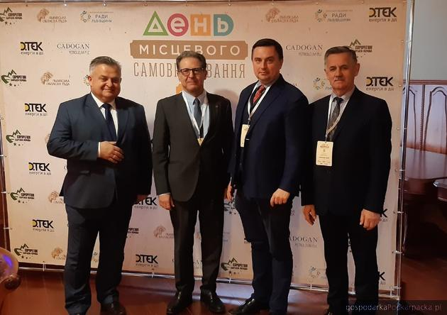 Od lewej: Stanisław Kruczek, Martin Guillermo Ramirez, Dawid Lasek i Józef Jodłowski