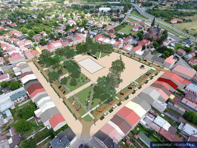 Przebudowa Rynku w Stalowej Woli - Rozwadowie. Miasto sprawdzi dokumentację projektową
