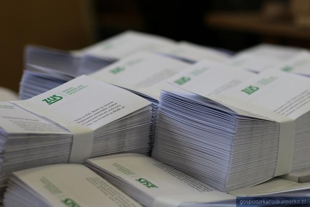 Przedsiębiorcy z Podkarpacia dostaną listy z ZUS