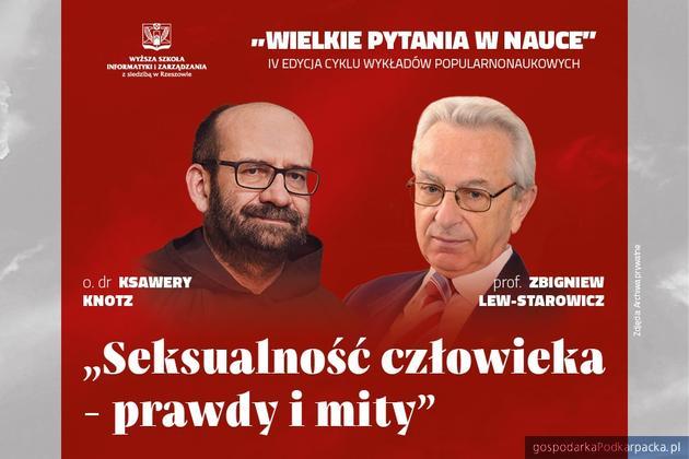 """Prof. Zbigniew Lew-Starowicz i o. Ksawery Knotz gośćmi kolejnych """"Wielkich pytań w nauce"""""""