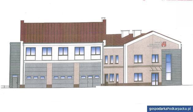 Budowa Centrum Bezpieczeństwa, Kultury i Integracji Społecznej w Czudcu. Czterech chętnych