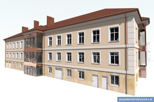 Wizualizacja COS. Fot. PWSTE w Jarosławiu