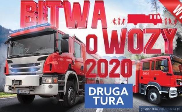 Które gminy  na Podkarpaciu dostaną wóz strażacki za wysoką frekwencję