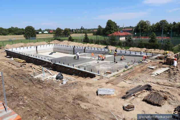 Trwa już przebudowa basenów w Wysokiej koło Łańcuta