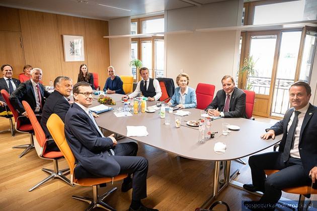 Uczestnicy szczytu  Rady Europejskiej. Fot. Krystian Maj / KPRM