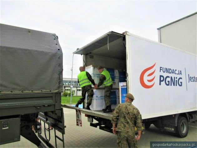 Trzecia transza pomocy PGNiG dla podkarpackich powodzian