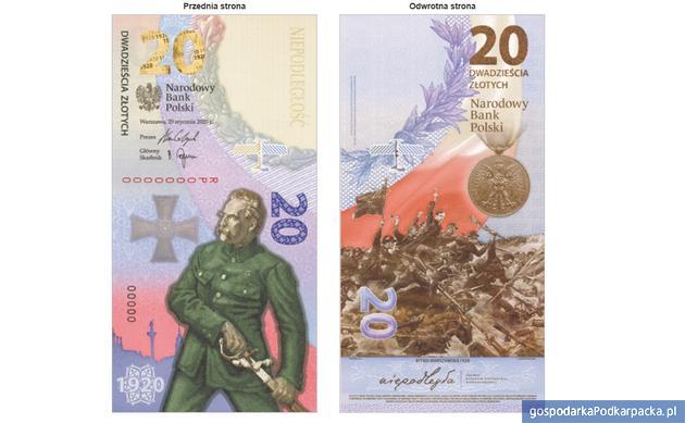 Nowy banknot kolekcjonerski NBP – Bitwa Warszawska 1920