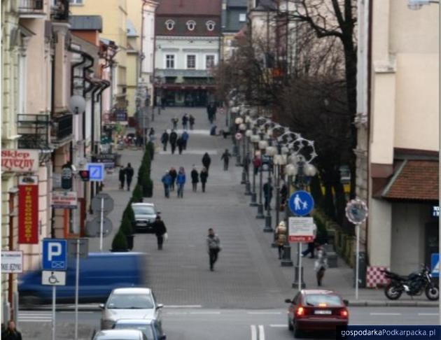 Ulica Grunwaldzka w Rzeszowie.. Fot. Adam Cyło
