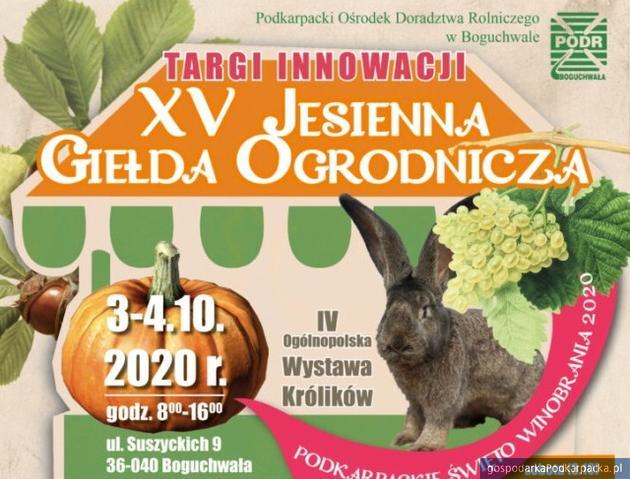 XV Jesienna Giełda Ogrodnicza w Boguchwale
