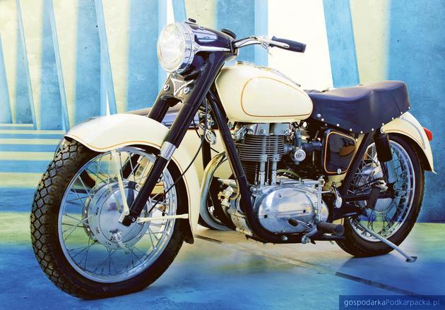 Kultowe motocykle WSK na wystawie w Krośnie