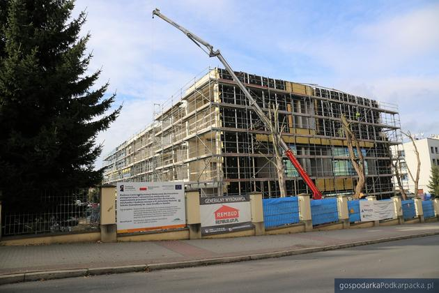 Budowa Centrum Symulacji Medycznej Uczelni Państwowej w Sanoku mocno zaawansowana