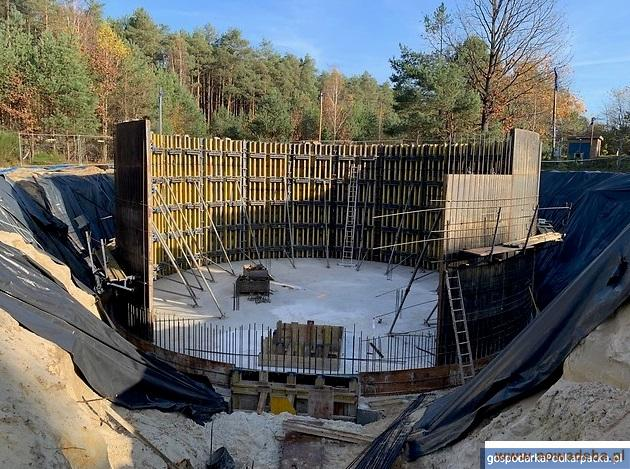 Trwa drugi etap przebudowy stacji uzdatniania głębinowego ujęcia wody w Nowej Dębie