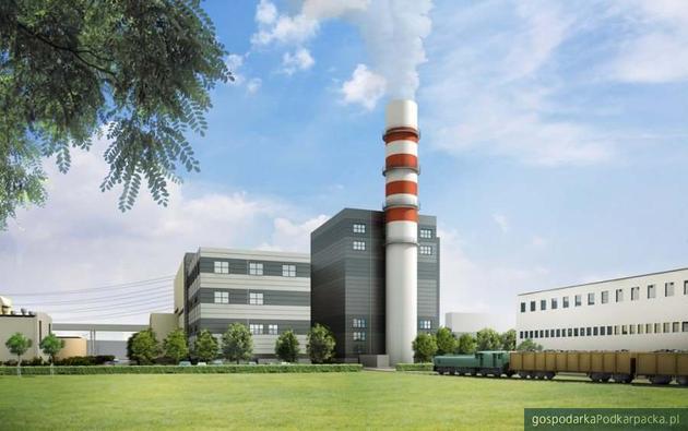 Budowany blok gazowy w Elektrowni Stalowa Wola (Grupa Tauron)