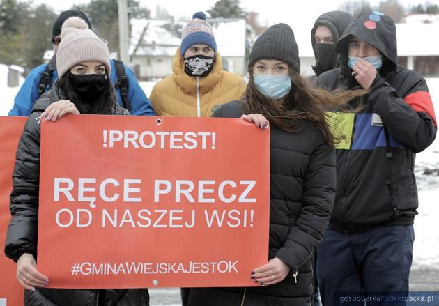 Rozszerzenie Sanoka – protest mieszkańców okolicznych wsi