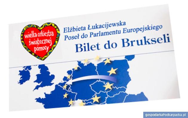 Bilety do Brukseli licytowane na WOŚP