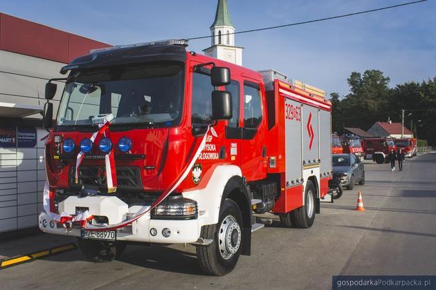 Nowy wóz strażacki dla OSP Wysoka Głogowska