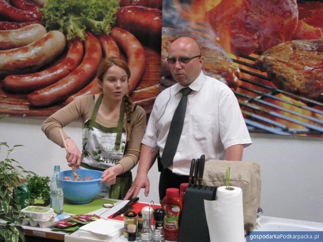 Agnieszka Sulikowska-Radi i Adam Dziedzic, prezes Agrohurtu. Fot. Adam Cyło