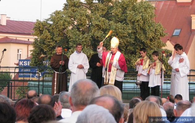 Poświęcenia dokonał biskup Kazimierz Górny