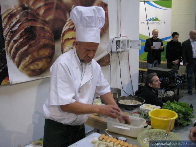 Krzysztof Baran, szef kuchni hotelu Zimowit. Fot. Adam Cyło