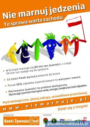 Nie marnuj owoców i warzyw
