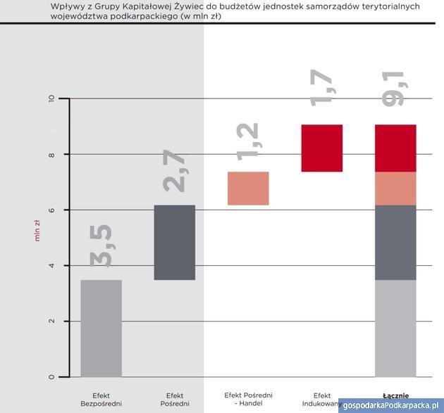 Wpływ Grupy Żywiec na gospodarkę województwa podkarpackiego