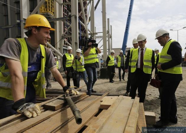 Trwa budowa bloku gazowo-parowego w Stalowej Woli