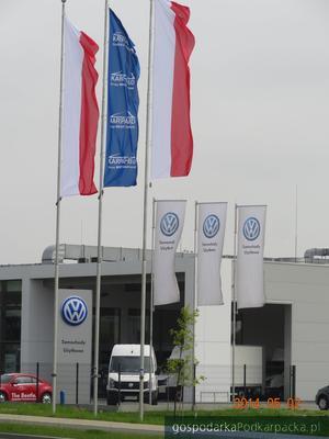 Salon Volkswagena (Autorud) przy ul. Lubelskiej