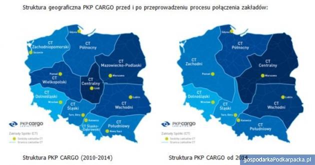 Nowa struktura PKP Cargo