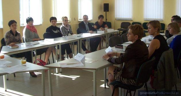 Jedno ze spotkań zorganizowane w ramach projektu. Fot. wspolpraca.bdcenter.pl